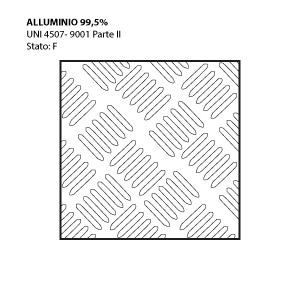 Lamiere Mandorlate In Alluminio Peraluman Rame Titanio Ottone